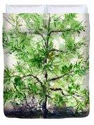 Lake Tahoe Tree Duvet Cover