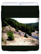 Lake Toxaway Gorge Duvet Cover