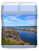 Lakeside Bend Duvet Cover