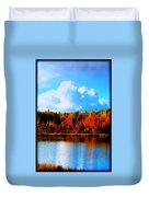 Lakeside Drama Ll Duvet Cover