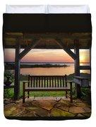 Lakeside Serenity Duvet Cover