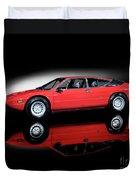 Lamborghini Urraco 1972 Duvet Cover