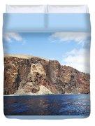 Lanai Sea Cliffs Duvet Cover