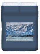 Landscape Lake Tahoe Duvet Cover
