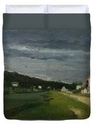 Landscape With Stormy Sky Duvet Cover