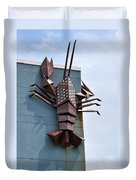Langusta Lobster Duvet Cover