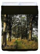 Larchill Arcadian Garden, County Duvet Cover