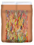 Large Acrylic Color Study 2012 Duvet Cover