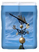 Largest Weathervane Duvet Cover