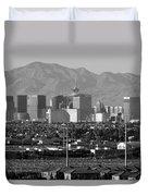Las Vegas Suburbs Duvet Cover