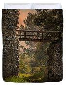 Last Bridge To Minas Tirith  Duvet Cover