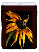 Last Day Of A Black-eyed Susan Duvet Cover