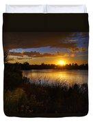Last Light  Duvet Cover