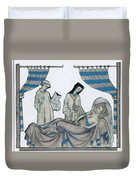 Last Rites, Middle Ages Duvet Cover