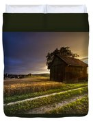 Last Sigh Duvet Cover by Debra and Dave Vanderlaan