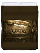 Last Supper - Wieliczka Salt Mine Duvet Cover