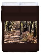 Late Afternoon Walk Duvet Cover