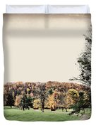 Late Fall In Waynesville Duvet Cover