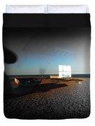 Late Flight Duvet Cover