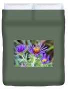 late Summer Fleabane Duvet Cover