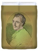 Laurence Eusden, English Poet Laureate Duvet Cover