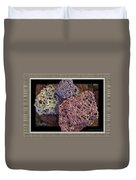 Lava Rocks Duvet Cover