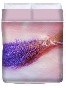 Lavender - Lace - And Memories Duvet Cover