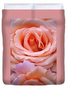 Layers Of Pink Petals Duvet Cover
