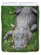 Lazy Gator II Duvet Cover