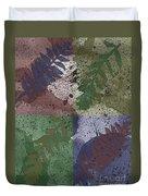 Leaf Boxes Duvet Cover