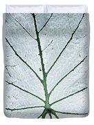 Leaf Hortus Botanicus, Close-up Duvet Cover