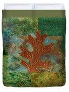 Leaf Life 01 - Green 01b2 Duvet Cover