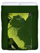 Leaf Shadow Duvet Cover