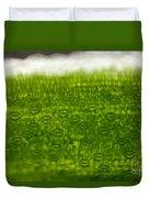 Leaf Stomata, Lm Duvet Cover