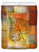 Leaf Whisper 4 Duvet Cover