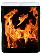 Leaping Flames Duvet Cover