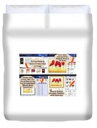 Learn How It Works Duvet Cover