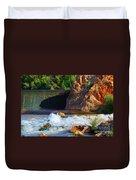 Leasburg Dam New Mexico Duvet Cover