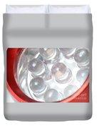 Led Flashlight Duvet Cover