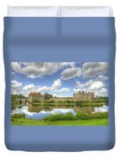 Leeds Castle Reflected Duvet Cover