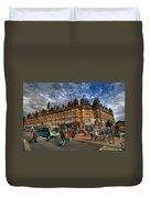 Leeds Kirkgate Market Duvet Cover