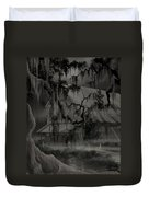 Legend Of The Old House In The Swamp Duvet Cover