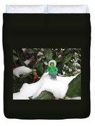 Lego Mini Eskimo In Holly  Duvet Cover