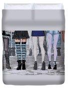 Legs Duvet Cover by Jutta Maria Pusl