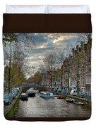Leidsegracht. Amsterdam Duvet Cover