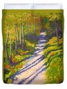 Lena Lake Trail 3 Duvet Cover