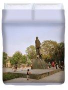 Lenin In Hanoi Duvet Cover