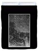 Leonid Meteor Shower, 1833 Duvet Cover