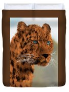 Leopard - Featured In The Group Wildlife Duvet Cover