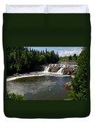 Lepreau Falls Duvet Cover